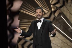 Jimmy Kimmel, apresentador do Oscar, realizou um discurso sobre igualdade de gênero e diversidade  Créditos: Eddy Chen